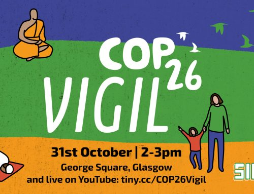 You are invited to the COP26 Vigil